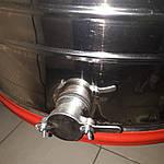 Медогонка электрическая 4-х рам., червячный электропривод. Бак, кассеты, детали ротора сварные нержавеющие., фото 6
