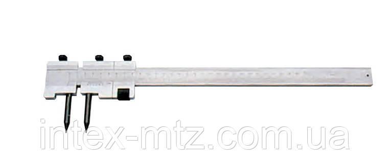 Штангенциркуль розмічальний з твердосплавними наконечниками 1000мм (0,05)