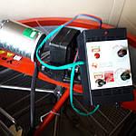 Медогонка электрическая 4-х рам., червячный электропривод. Бак, кассеты, детали ротора сварные нержавеющие., фото 4