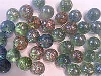 Камни для декора шарики Пена d 1,5 см.