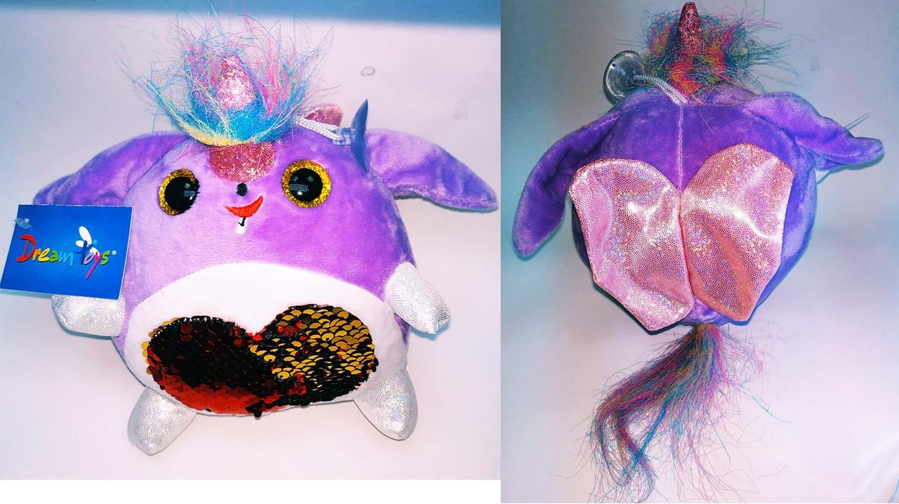 """Мягкая игрушка """"Дримчик Буся"""", фиолетовый, 908012"""