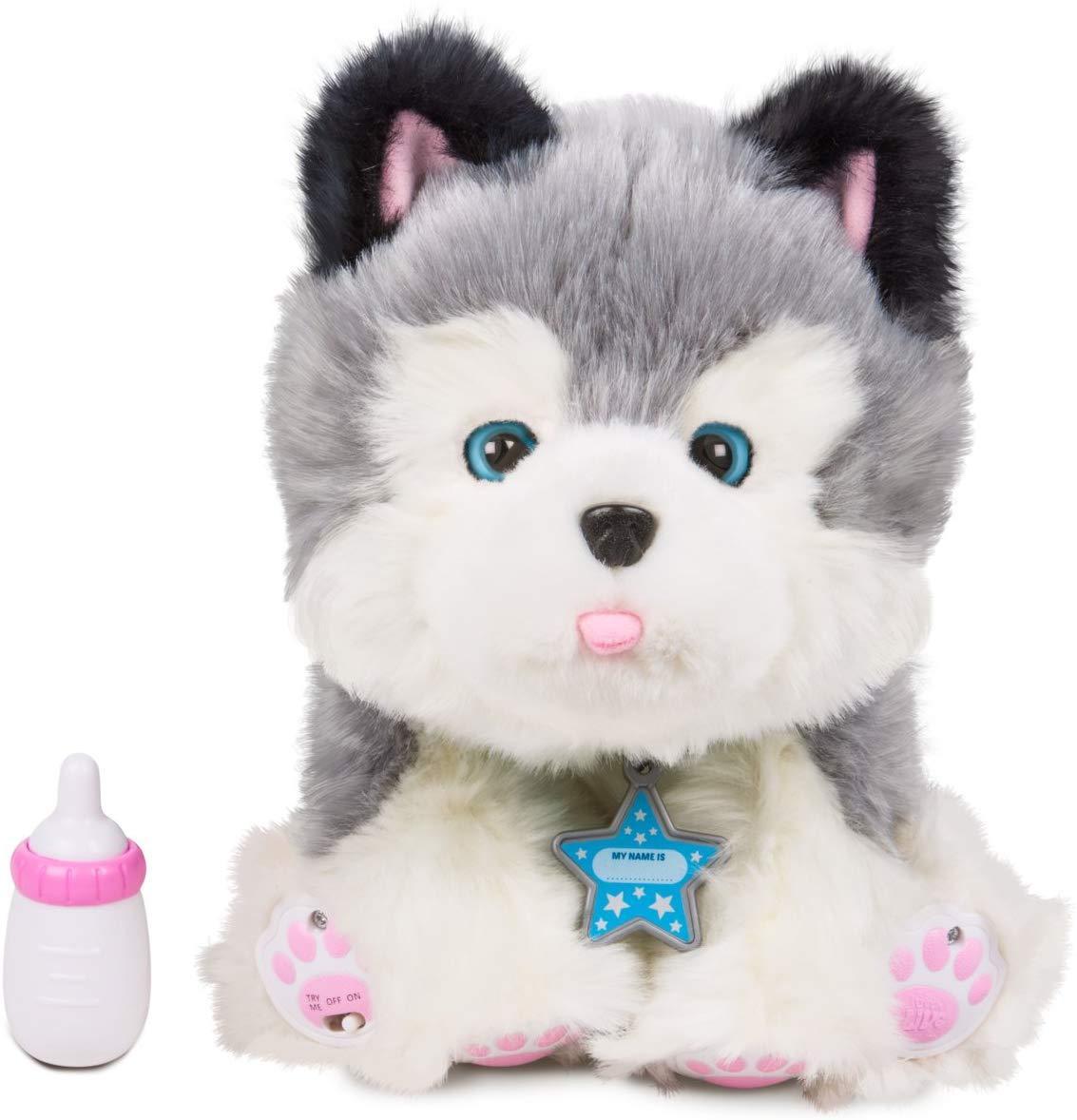 Интерактивный ласковый щенок Хаски Фрости Little Live Pets Frosty My Dream Puppy