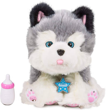 Интерактивный ласковый щенок Хаски Фрости Little Live Pets Frosty My Dream Puppy, фото 2