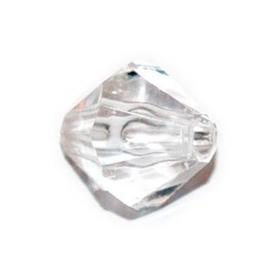 Бусина пластиковая граненная КОНУС, 30 г, 8 мм