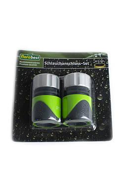 Комплект для подсоединения шланга 2 шт. Florabest