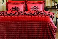 Pierre Cardin (Пьер Карден) постельное бельё сатин евро Primavera red