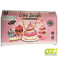 Детский игровой набор торт с аксессуарами Cake YH-03E