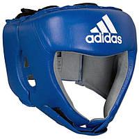 Боксерский шлем Adidas с лицензией AIBA для соревнований , синий