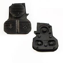Резиновые кнопки автомобильного ключа BMW E39 (БМВ 5 кузов Е39)