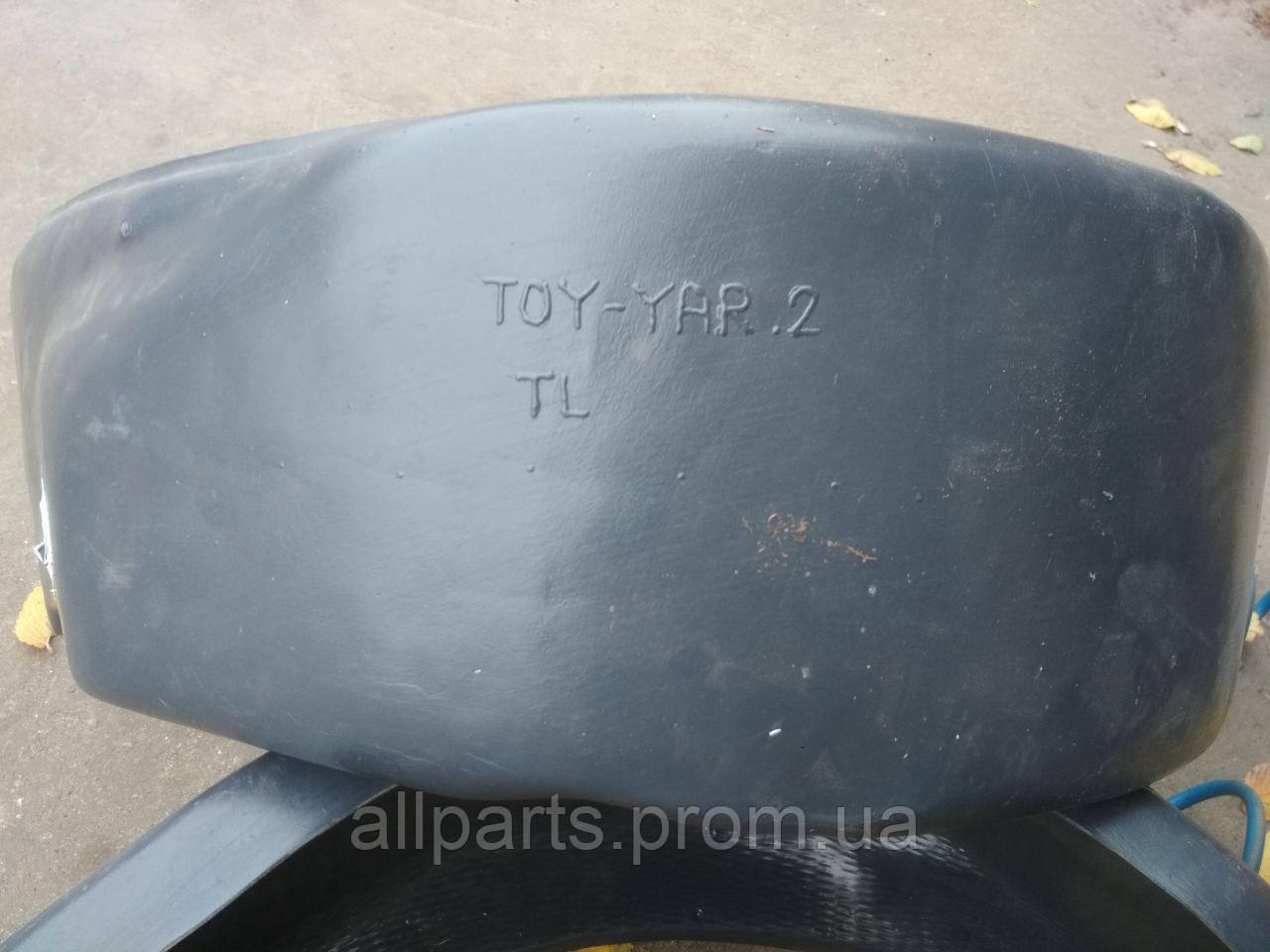Подкрылки задние Toyota Yaris II p90/100 '2006-10 - защита арок