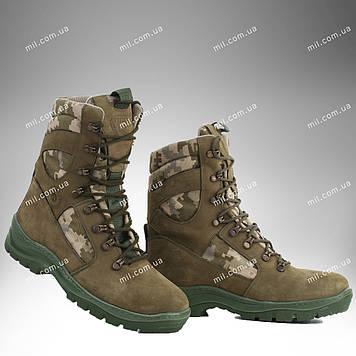 Берцы зимние / военная, тактическая обувь GROZA ММ14 (оливковый)