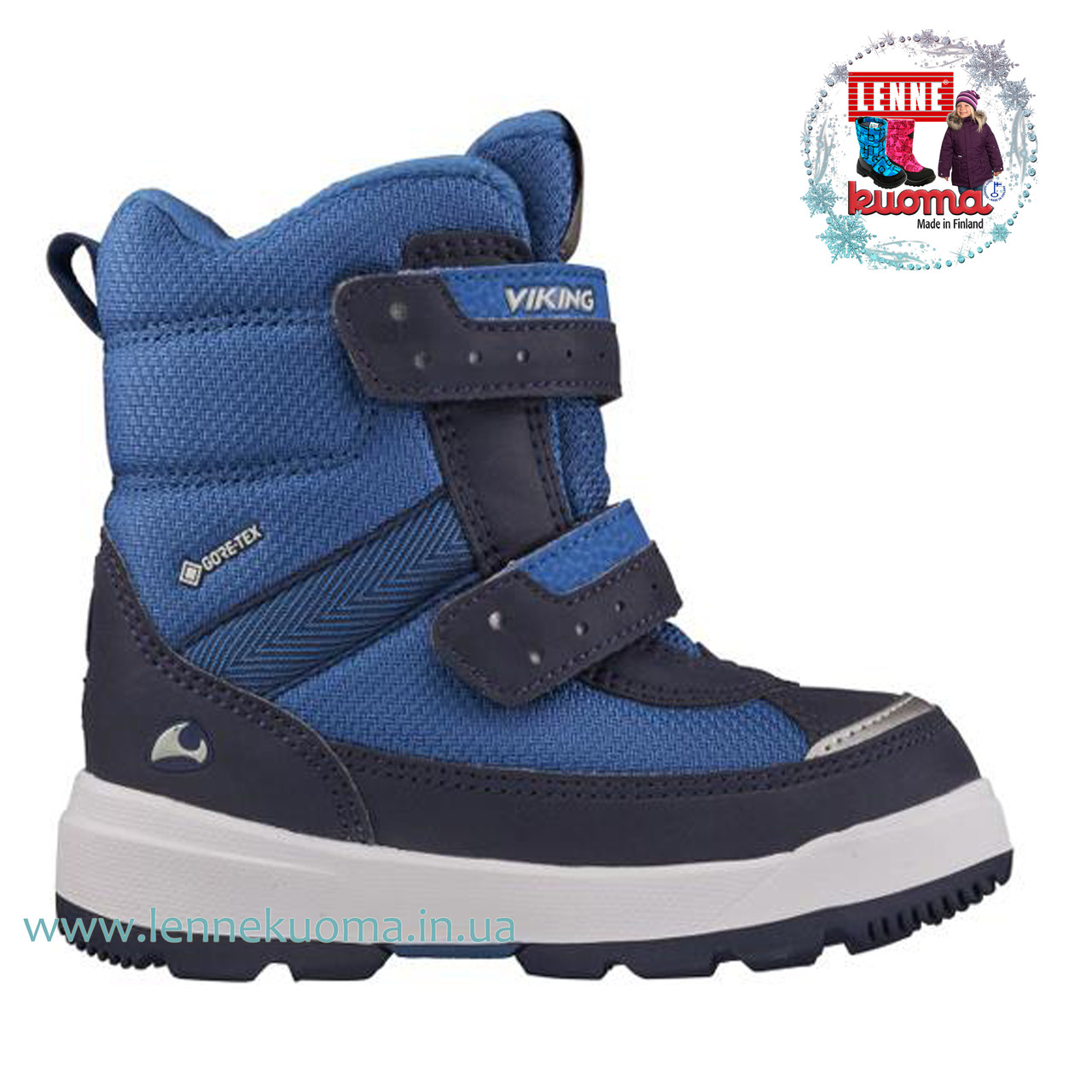 VIKING PLAY II GORE TEX зимние ботинки. Размеры 22-33