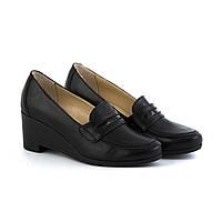 VM-Villomi Кожаные туфли-лоферы на танкетке