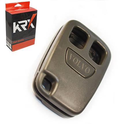 Корпус автомобильного ключа Volvo C30, V50, C70, S70, S80 на 2 кнопки (Вольво С30, В50, С70), фото 2