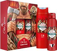 Набор Old Spice Bearglove Аэрозольный дезодорант 150мл + Гель для душа/шампунь 2в1 250мл