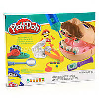 Набор для лепки Play-Doh «Мистер Зубастик» (качественный аналог) МК1525 (Набор стоматолога), фото 3