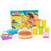 Набор для лепки Play-Doh «Мистер Зубастик» (качественный аналог) МК1525 (Набор стоматолога), фото 5