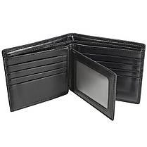 ✓Мужской кошелек Baellerry D3001 Black для денег визиток кредитных карточек прочный и долговечный, фото 3