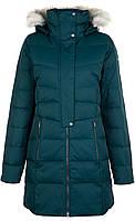 1798571CLB-375 L Куртка пухова жіноча  темно-зелений р.L