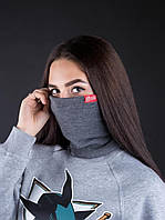 Хомут Punch - Snug, Dark/Grey melange