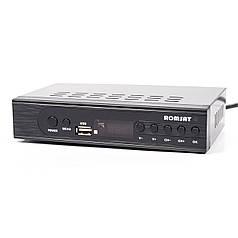 ➚Тюнер DVB-T2 Romsat TR-2018HD цифровой эфирный Т2 приемник с LED дисплеем домашний медиа-центр
