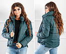 Куртка Зима . Женская курточка короткая, фото 2