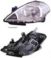 Фара передняя для Nissan Tiida '05- правая (DEPO) под электрокорректор азиатская версия