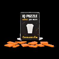 Головоломка Кофейный стаканчик, IQ Puzzle Фитнес для мозга, 1 шт