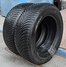 Шины б/у 205/65 R15 Michelin Alpin 5, ЗИМА, 6 мм, пара