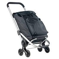 Сумка тележка на колесах, сумка тележка хозяйственная, ShoppingCruiser Stairs Climber 40 Black