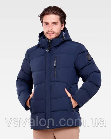 Зимняя мужская куртка Vavalon KZ-P914 navy, фото 2