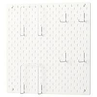 IKEA SKADIS Перфорированная панель, белый (392.170.65)
