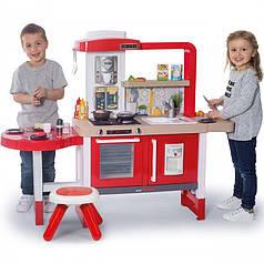 Детская игровая интерактивная кухня Evolutive Grand Chef Smoby 312301 со звуковыми эффектами и подачей воды