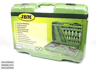 Набор ключей и насадок шестигранных (216 предметов) (хромированые) JBM (Испания)50895