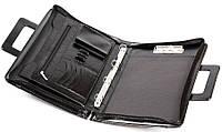 Папка портфель из эко кожи JPB AK-13 черная