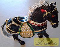 Шкатулка ювелирная Лошадь QF3482