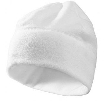 Шапка белая для сублимации флис