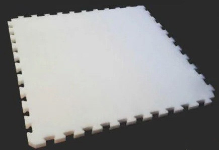 Мат татами «IZOLON AIR» ласточкин хвост 20 мм (Белый)