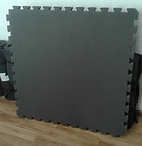 Мат татами «IZOLON BASE» ласточкин хвост 40 мм (Серый), фото 2