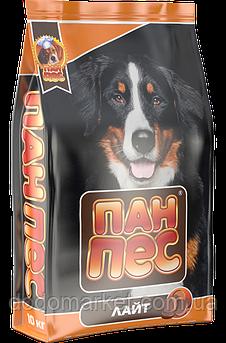 Сухий корм для собак Пан Пес Лайт 10 кг