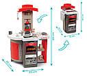 Кухня игрушечная Тефаль Повар раскладная красная Tefal Smoby 312200, фото 2