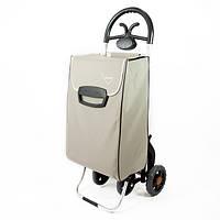Сумка тележка на колесах, сумка тележка хозяйственная, Aurora Forza 4_60 Grey