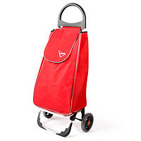 Сумка тележка на колесах, сумка тележка хозяйственная, Aurora Portofino 50 Red