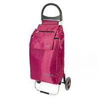 Сумка тележка на колесах, сумка тележка хозяйственная, Aurora Rio Thermo 55 Bordeaux