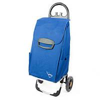 Сумка тележка на колесах, сумка тележка хозяйственная, Aurora Canadese 78 Blue