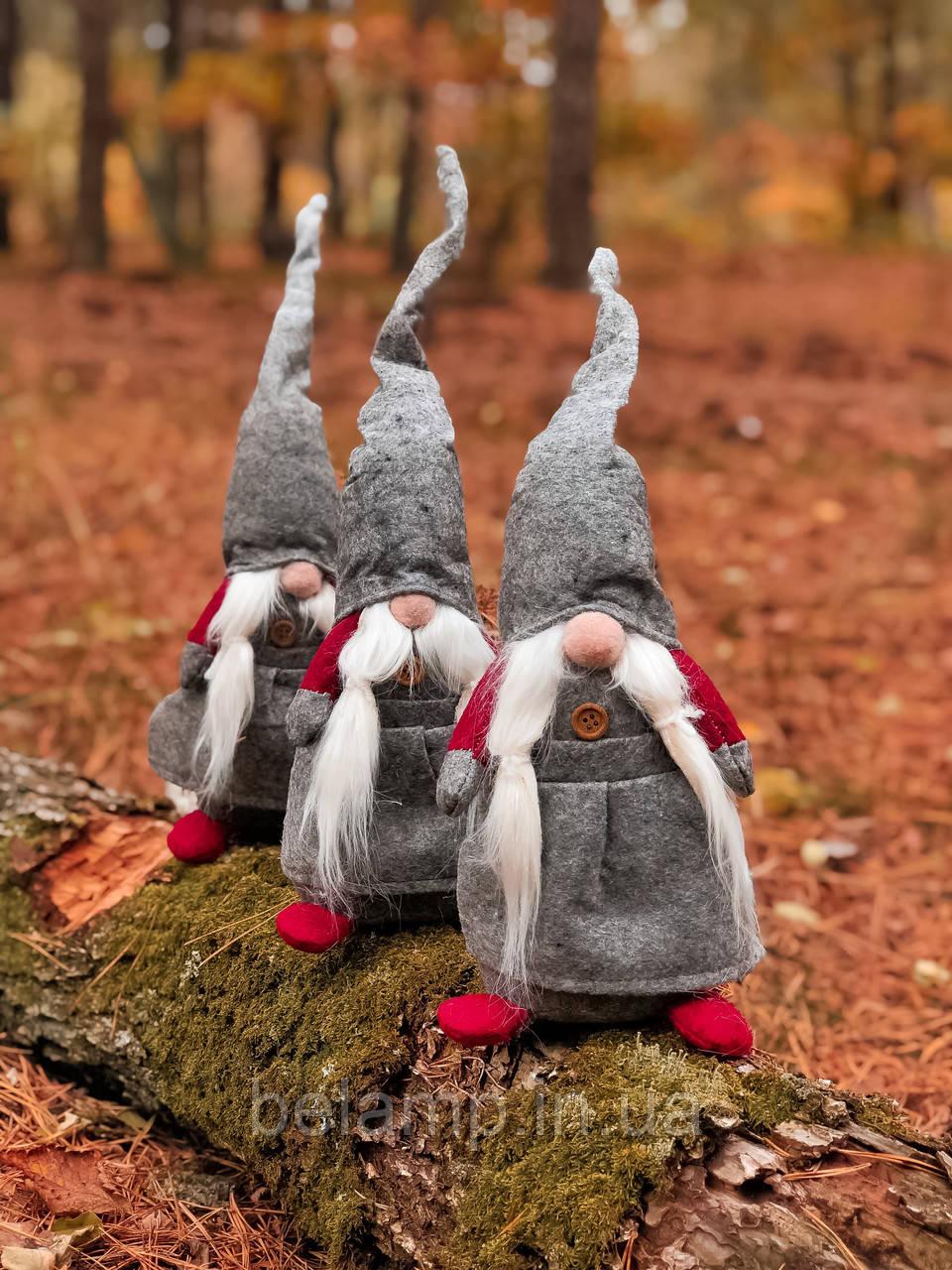 """Новогоднее украшение «Серый викинг"""""""