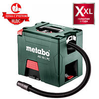 Аккумуляторный пылесос Metabo AS 18 L PC, фото 1
