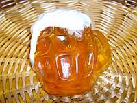 """Мыло натуральное ручной работы """"Кружка пива"""" , фото 1"""
