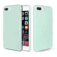 Чехол накладка Silicone Case для iPhone 7+ \ 8 Plus  №26 mint gam
