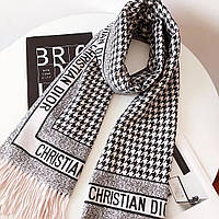 Шикарный палантин шарф в стиле Christian Dior ХИТ ЗИМЫ